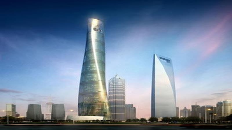 (图十:上海第一中心建成后的景象)