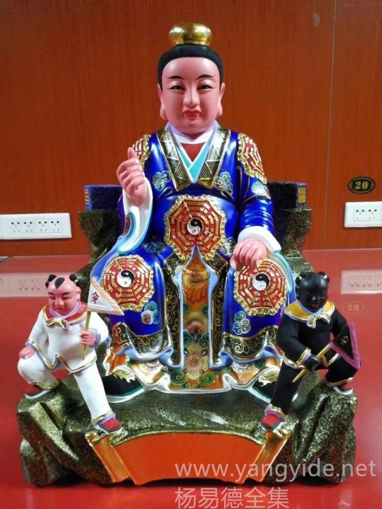 茅山祖师爷神像