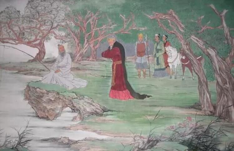 姜太公钓到文王后,给他讲了一场什么样的道?