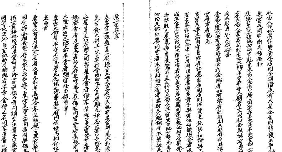 紫微斗数罕见古籍:《深谷秘诀》下载3