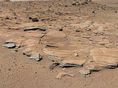 火星上发现液态水2