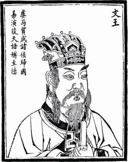 后天八卦创始人-周文王姬昌