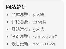 博客文章已逾500篇,浏览量突破100万!